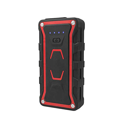 Lowest Prices! WPFC Car Jump Starter, Portable Power Pack with Waterproof, Dual QC3.0 USB Ports, 2 L...