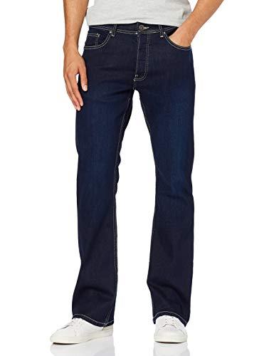 Enzo Herren Ez401 Bootcut Jeans, Blau (Indigo Indigo), W36/L32 (Herstellergröße: 36R)