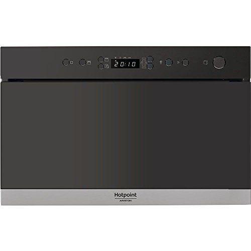 Micro ondes Grill Encastrable Hotpoint Ariston MN713IXHA - Micro-Ondes + Grill Integrable Inox anti-trace - 22 litres - 750 W