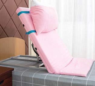 LWQ Alte Menschen erhielten elektrische Unterstützung Pflegebett Rückenlehne Rahmen gelähmt Patienten aufstehen Booster,B