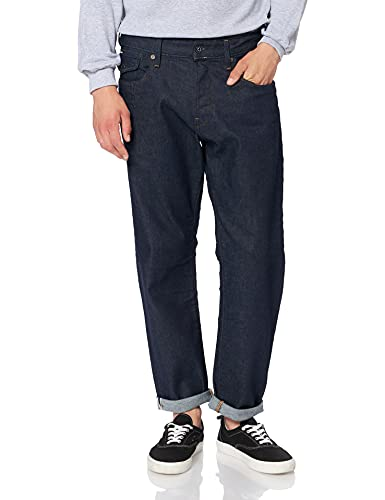 G-STAR RAW Herren Loose Fit Jeans Morry 3d Relaxed Tapered Loose Fit, Blau (3D Raw Denim B454-1241), 34W / 32L