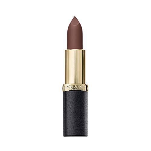 L'OREAL Color Riche Matte Lipstick 654 Bronze SAUTOIR Unisex Adulto, Negro, Estándar