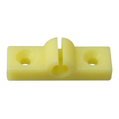 Best Price! BQLZR Yellow Plastic Cable Positioning Buckle Piano Instrument Parts for Upright Pianos ...