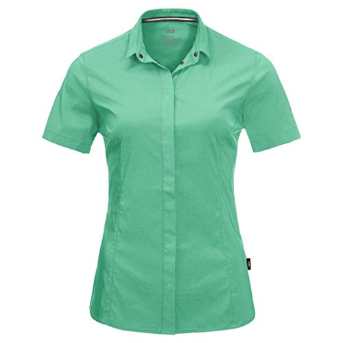 Jack Wolfskin Damen Jwp Hemd, Pacific Green, XXL