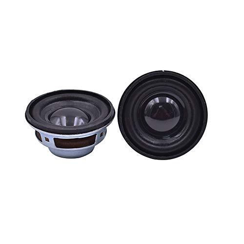 WNJ-TOOL, 2 stücke 40mm 4Ohm 3w Full Range Audio-Lautsprecher 1.5inch Stereo Acoustic Lautsprecher für Twist Auto Bluetooth-Lautsprechereinheit DIY (Größe : 1.5