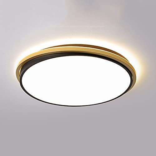 Lámpara De Techo LED 40W Diseño De Emisión Lateral Iluminación De Techo 3 Temperaturas De Color En Uno (3000k / 4000k / 6500k) Accesorio De Montaje Empotrado Luz De Techo Regulable Ajustable Para Come