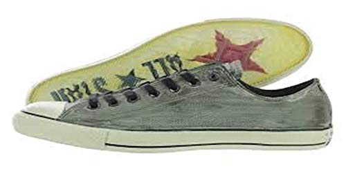 Converse Men's Chuck Taylor All Star Ox John Varvatos (5 B(M) US Women / 3 D(M) US Men, Moonmist/Nickel/Turtledove)
