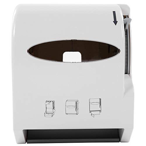 lyrlody Wandhalterung Rollenpapierspender Handtuchspender Papierhalter Aufbewahrungsbox Toilettenpapierhalter für den gewerblichen Heimgebrauch, 26,5 * 32,8 * 22,5 cm
