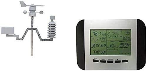KAIBINY WS1041 Tiempo Forono Tiempo Estación meteorológica Estación meteorológica Velocidad del Viento Dirección de Viento Medidor de Lluvia Temperatura e higrómetro