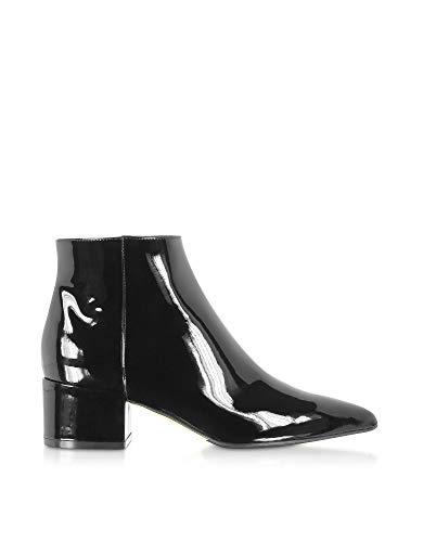Luxury Fashion | Sergio Rossi Dames A85400MVIV011000 Zwart Lak Enkellaarzen | Herfst-winter 19