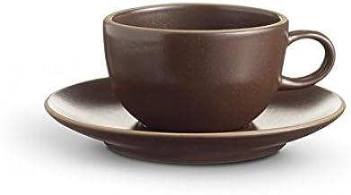 product image for Heath Ceramics Coupe Tea Cup & Saucer Set