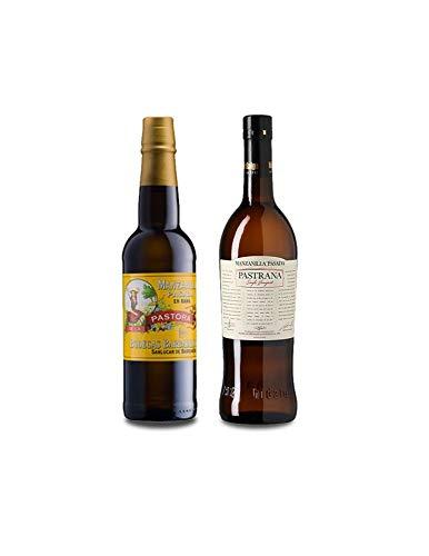 Manzanilla Pasada Pastora de 37.5 cl y Vino Manzanilla Pastrana de 75 cl - Mezclanza Exclusiva