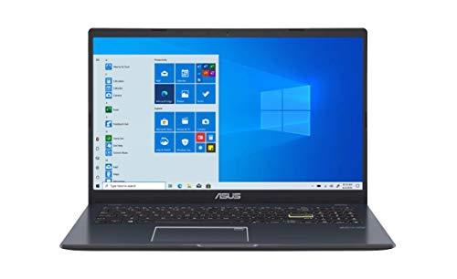 "Asus Vivobook L510 Ultra Thin Laptop I 15.6"" FHD Display I Intel Celeron N4020 I 4GB RAM 64GB eMMC I Backlit Fingerprint USB-C HDMI Win10S + 2Weeks SkyCare Support"