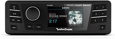 Rockford Fosgate PMX HD9813 Replacement Radio with Smartphone Connection for 1998 2013 Harley product image