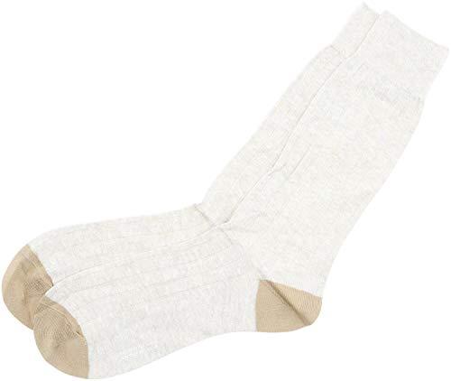 Pantherella Herren-Socken mit Kontrastabsatz & Zehen - - Medium