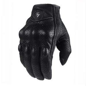 Motorradhandschuhe Motorrad wasserdichte Handschuhe Motorrad schutzausrüstung Motocross Handschuhe Geschenk-Perforation a6-XXL
