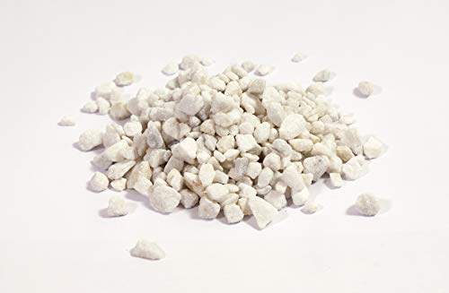 NWN Marmorsplitt   30 KG   9-12 MM   weiß   Dekosteine   Ziersplitt für Garten (2X 15 KG)