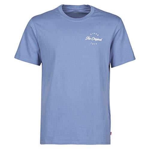Levi's Ssnl Hm Alt Place Colony Blue T-Shirts & Poloshirts Herren Blau - M - T-Shirts Shirt