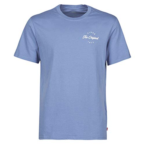 Levi's Ssnl Hm Alt Place Colony Blue T-Shirts & Poloshirts Herren Blau - XL - T-Shirts Shirt