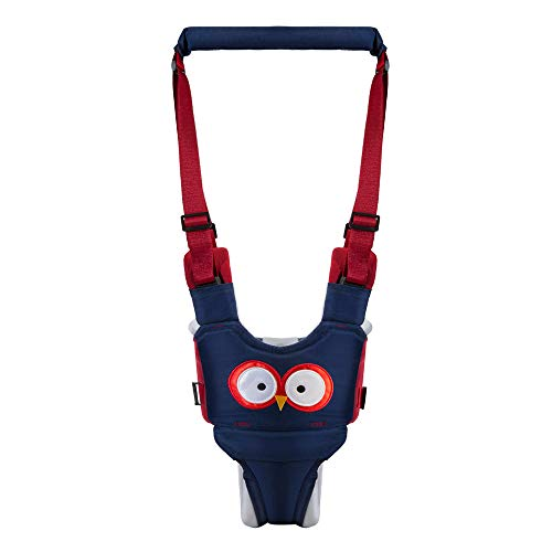 Baby peuter riem leren lopen veiligheidsgordel harnas wandelen assistent uil vorm baby wandelaar staande en lopen leren helper (Owl)