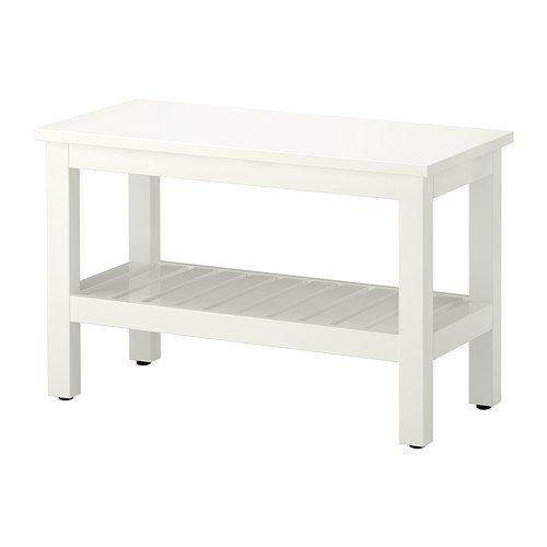 Ikea HEMNES - Banco, Blanco - 83 cm