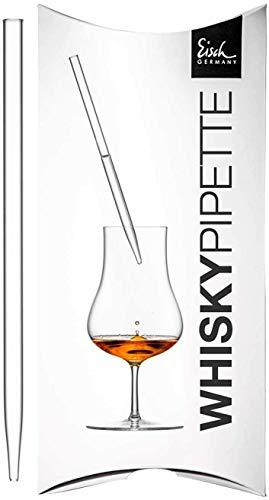 Eisch Gentleman Whisky Pipette im Geschenkkarton (Klar)