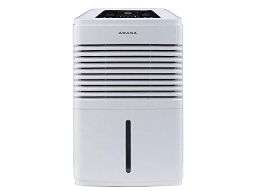 Great Features Of AMANA High Efficiency 50 Pint Portable Dehumidifier, White