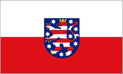 1000 Flags Deutsch Deutschland Thuringen Flagge 5'x3'