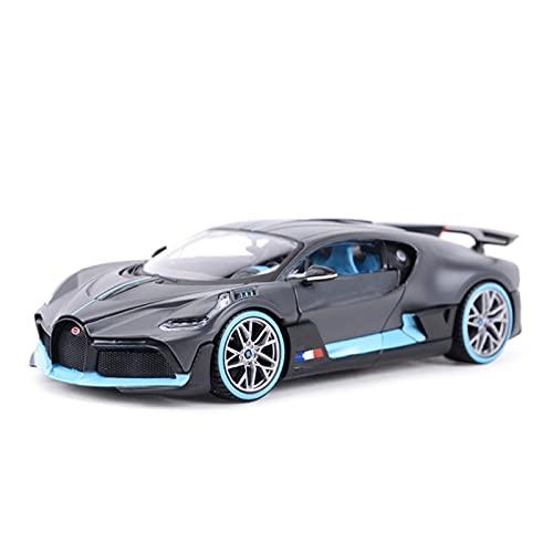 Kit Juguetes Coches Metal Resistente 1:24 Escala Diecast Aleación Metal Colección Modelo De Coche Deportivo para Bugatti Divo Juguetes Vehículo Maravilloso Regalo