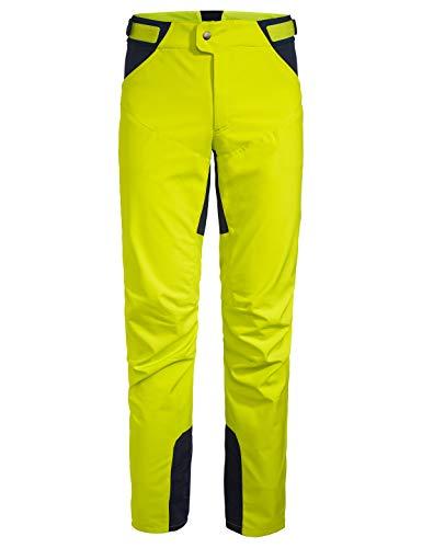 VAUDE Men's Qimsa Softshell Pants II Pantalones, Hombre, Bright Green, XL