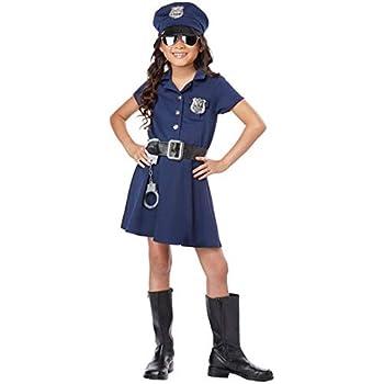 Forever Young Disfraz de policía para niñas: Amazon.es: Ropa y ...