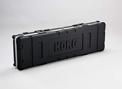 KORG Hardcase, Koffer für Grandstage 88, Rollcase mit KORG Logo, schwarz