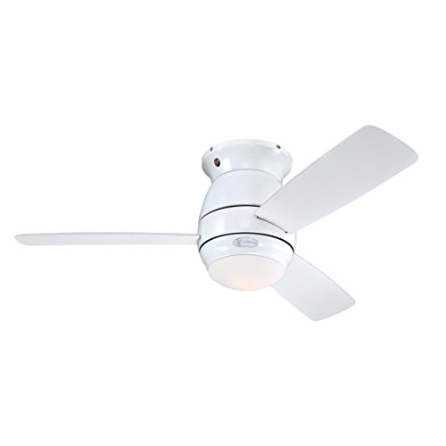 Westinghouse Lighting Halley Ventilador de Techo, blanco