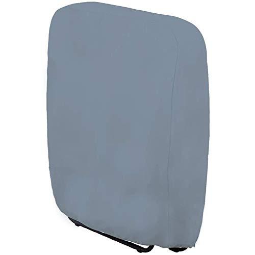 JQDZX Klappstühle Schutzhülle, Gartenstühle Abdeckhaube- Wasserdicht, UV-Beständiges, sonnenliege Liegestuhl Faltstuhl Konferenzstuhl Deckchair