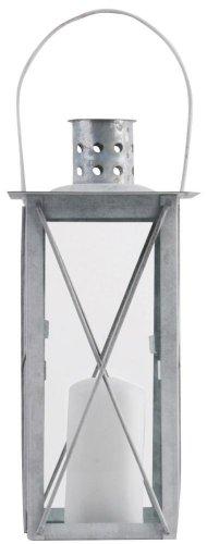 Esschert Design Laterne antikzink 25cm