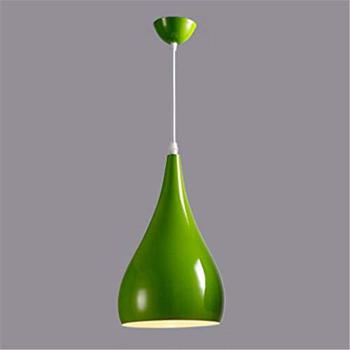 Lámpara De Techo Moderna Para Comedor, Lámpara De Café, Lámpara, Lámpara, Pantalla, Aluminio-Verde Araña De Luces