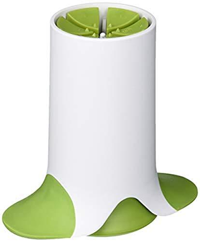 Microplane Veggie Wedgie Food Slicer and Vegetable Cutter - 6 Wedges, Green
