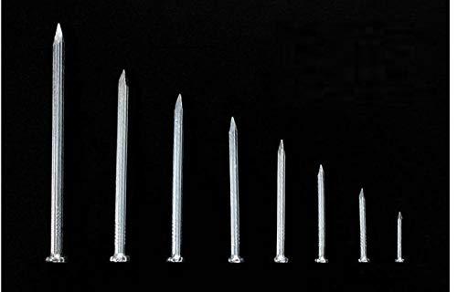 6 Punkte und 8 Punkte kleine Eisennägel, runde Stahlnägel, 6 Zoll runde Nägel, Nägel, Schuhnägel, Sesamnägel-60mm130 Stk