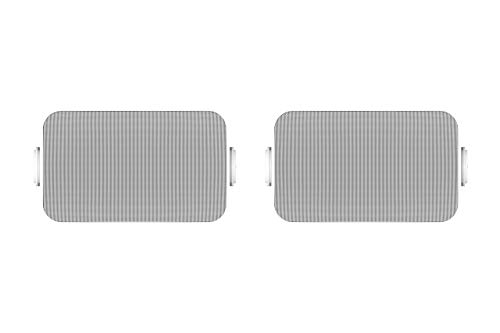 Sonos Outdoor Speakers- Pair of Architectural Speakers by Sonance for Outdoor Listening