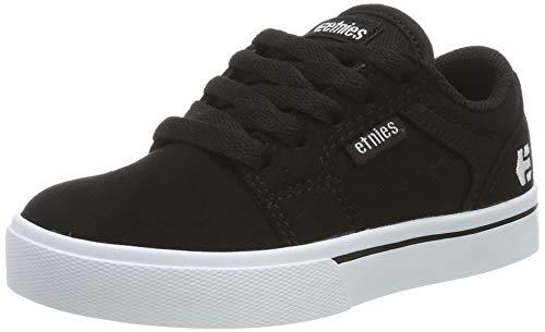 Etnies Unisex-Kinder Kids Barge Skateboardschuhe, Schwarz (Black/White 976), 30 EU