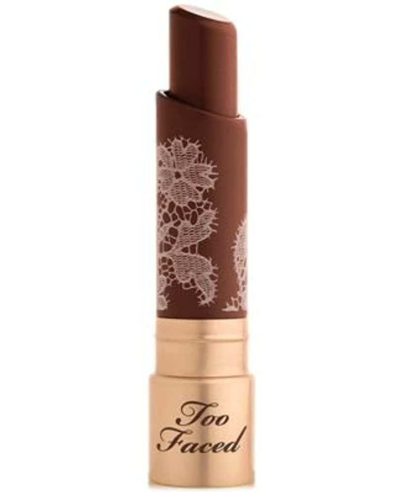 政権切り刻む建物Too Faced Natural Nudes Intense Color Coconut Butter Lipstick Indecent Proposal