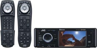 JVC KD-AVX33 - Auto Media-Receiver (Schwarz, 192kHz/24bit, AAC,MP3,WAV, TFT, 8,89 cm (3.5 Zoll), HS-IV)