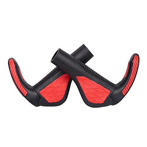 SQATDSBIKE Grip Bicycle Grip ergonomico Grips Grips Manubrio Portabicchiere Portabicchiere ad Angolo Regolabile Assorbimento d'urto Assorbimento (Colore : 4)