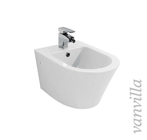 vanvilla Design Hänge WC Spülrandlos rimless + Hänge Bidet SET Luanda, inklusive Soft-Close - 4
