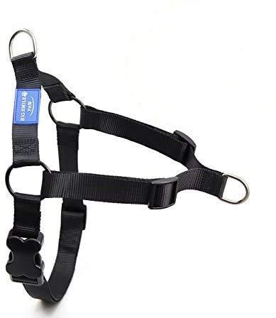 BIG SMILE PAW Adjustable Dog Harness No-Pull,Front Leash Clip Dog Harness