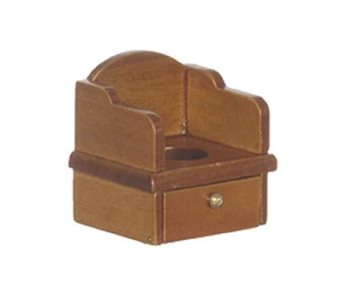 Melody Jane Poupées Miniature Noyer Victorien Enfant Commode Chaise Pot
