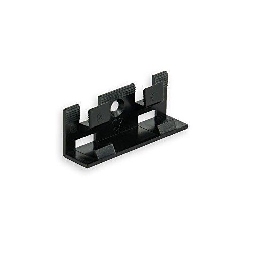 20 Clips für 15 lfm für Sockelleiste weiß 58mm TOP MDF Fußleisten für Vinyl Laminat Parkett