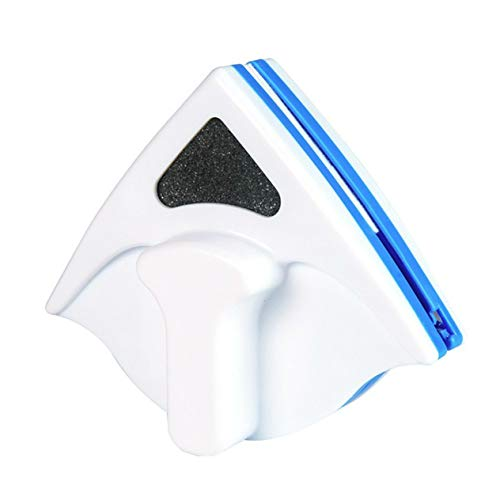 Limpiaparabrisas para el hogar Herramienta de Cepillo de Limpieza de Vidrio Cepillo magnético de Doble Cara Cepillo de Vidrio para Ventana Herramienta de Limpieza Limpieza-Azul BCVBFGCXVB