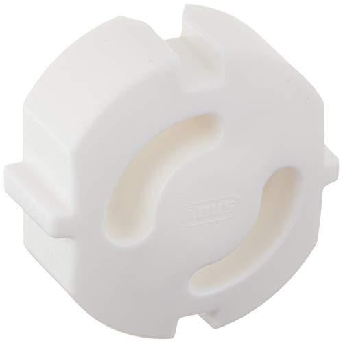 ABUS Steckdosensicherung Greta steckbare Kindersicherung - einfache Montage - mehrfach verwendbar - schützt Kinder und Babys - 6 Stück - weiß - 76975