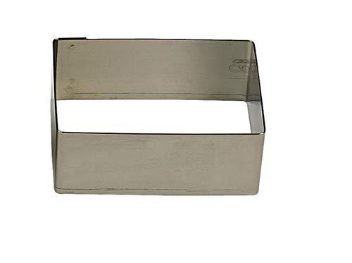 Gobel 864350 Nonnette / Emporte-pièce Forme Rectangulaire Inox 16*8 cm